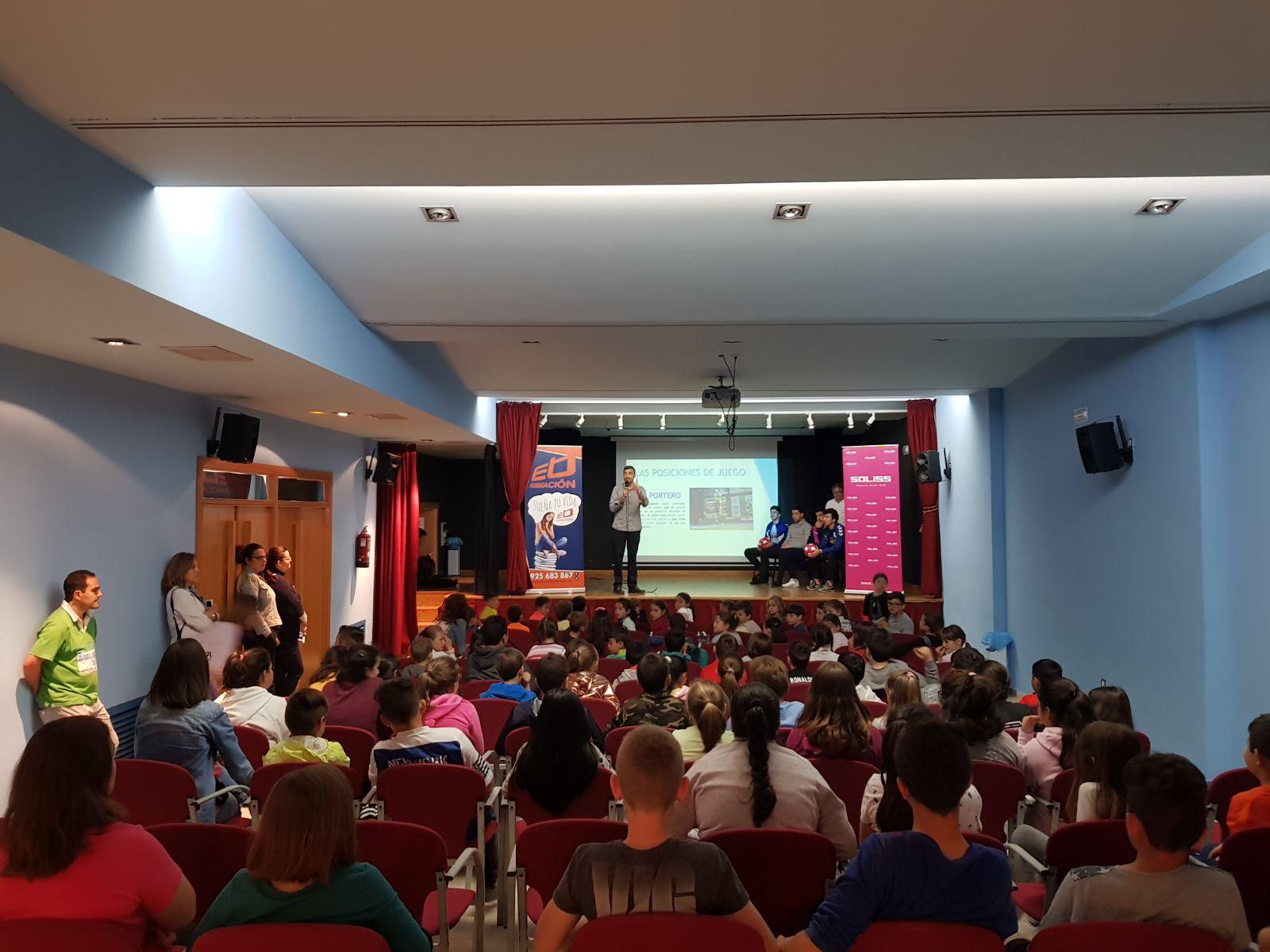 Celebración del AULA FÚTSAL a cargo del SOLISS FÚTBOL SALA con la colaboración del CEIP MIGUEL DE CERVANTES