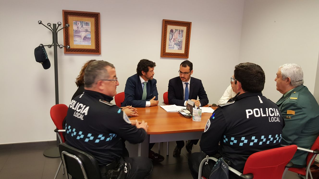 El Subdelegado del Gobierno en Toledo visita nuestro Municipio.