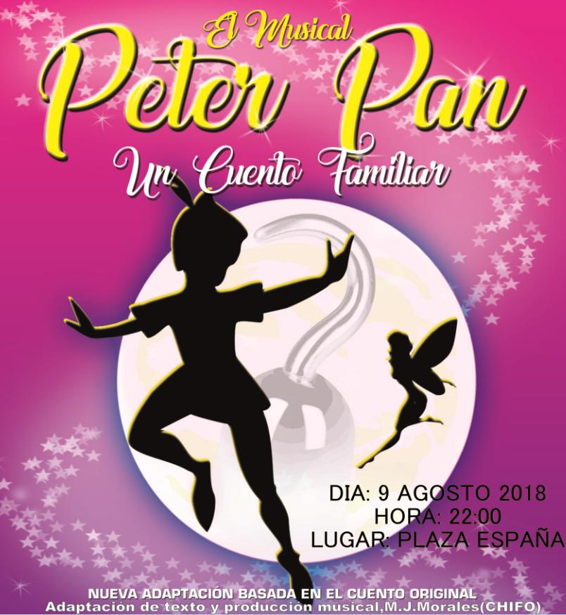 EL MUSICAL PETER PAN UN CUENTO FAMILIAR