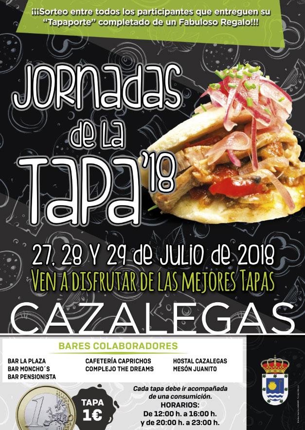 JORNADAS DE LA TAPA 18. CAZALEGAS