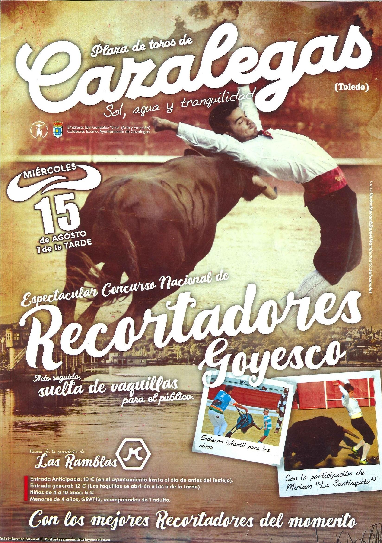ESPECTÁCULO TAURINO DE RECORTADORES  GOYESCO